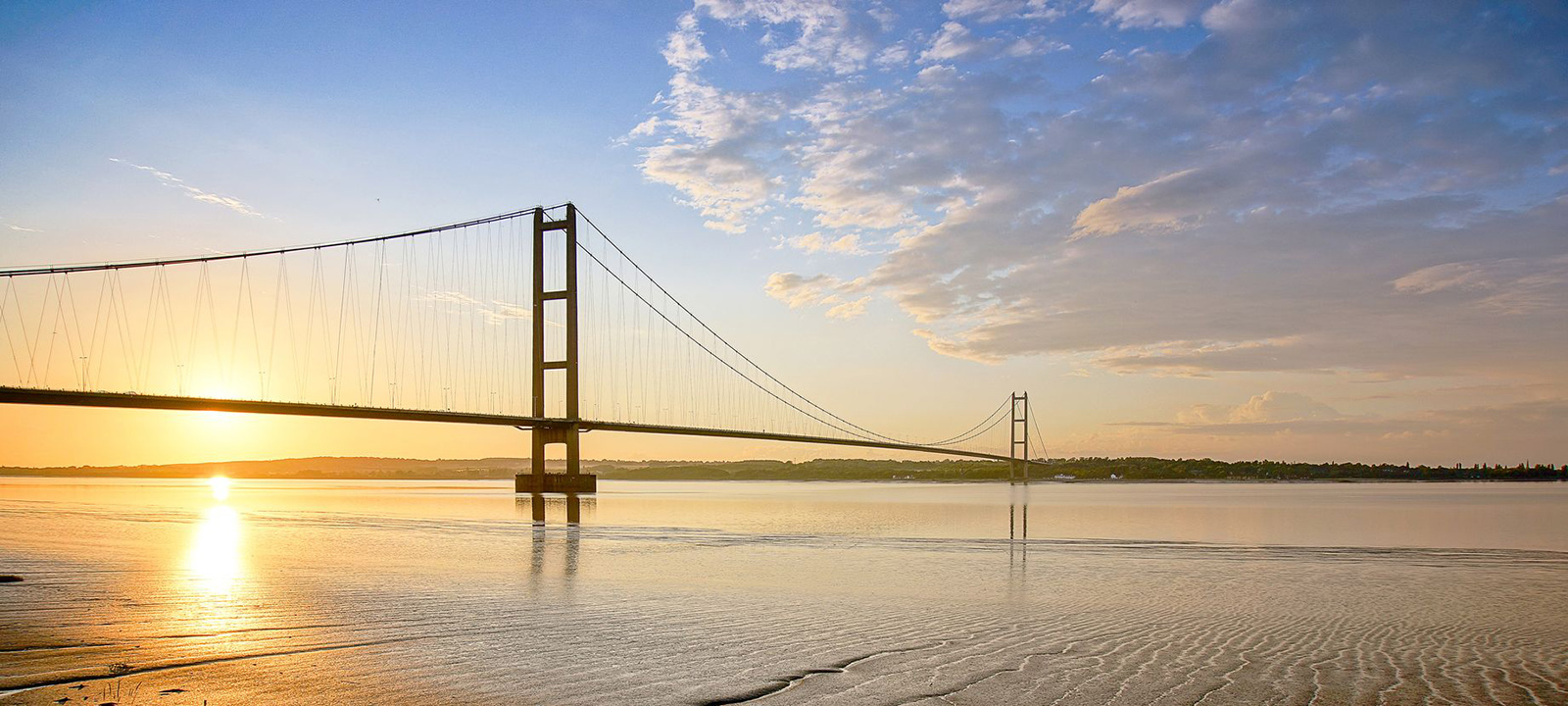 The Humber Bridge is a local landmark to Brewer Wallace Solicitors in East Yorkshire